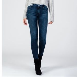 Black Orchid Jude Super Skinny-Tight Rope Jeans